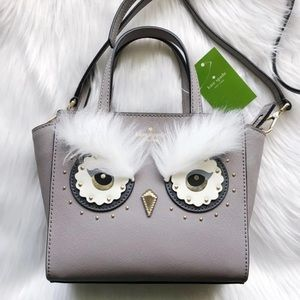 NWT Kate Spade Owl Mini Hadlee Star Crossbody